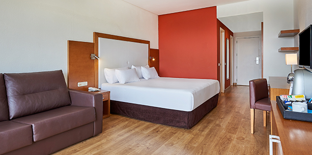 Habitación del Hotel Hesperia Playa Dorada