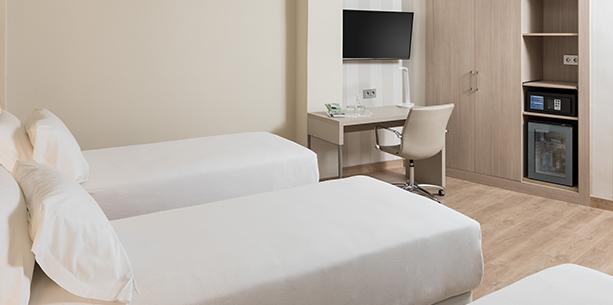 Habitació de l'Hotel Hesperia Murcia Centre