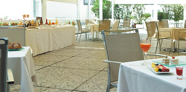 Restaurante del Hotel Hesperia Sevilla