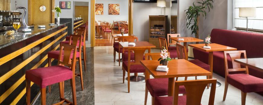 Restaurant de l'Hotel Hesperia Vigo