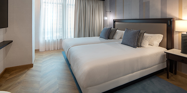 Premium room Hesperia Madrid