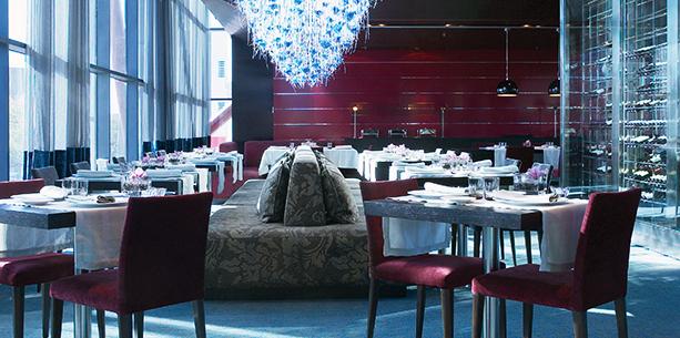 Restaurante del Hotel Hesperia Barcelona Tower