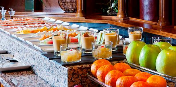 Hesperia Toledo Hotel food