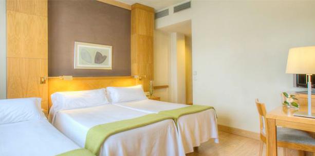 Habitación del Hotel Hesperia Santiago Peregrino