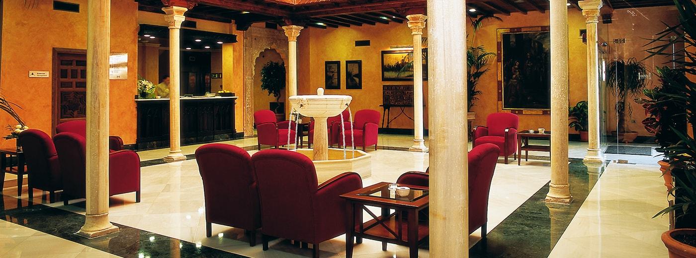 Saló de l'Hotel Hesperia Granada Centre