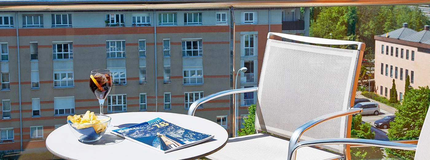 Terrace Hotel Hesperia Donosti