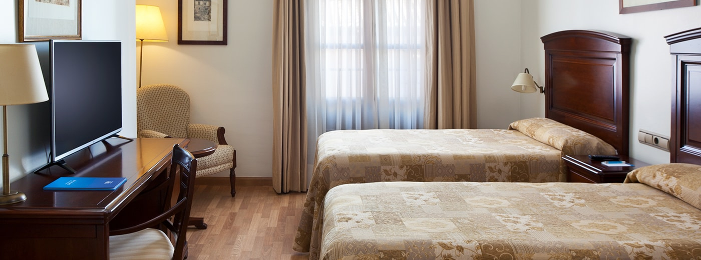 Habitación del Hotel Hesperia Granada Centro
