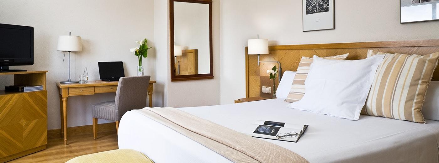 Habitació de l'Hotel Hesperia Vigo