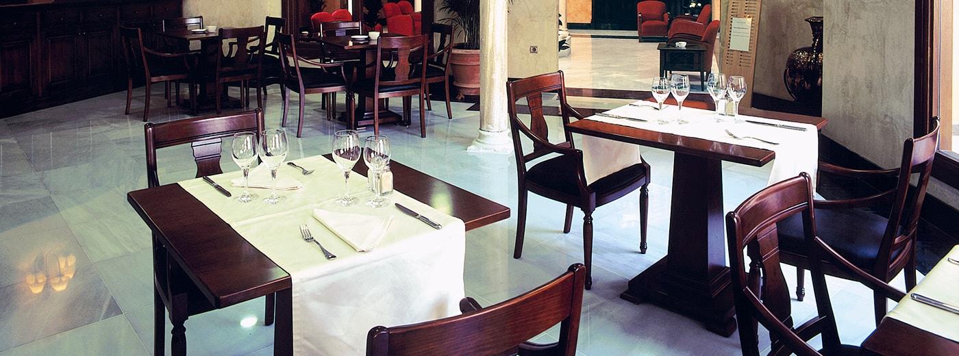 Restaurant de l'Hotel Hesperia Granada Centre