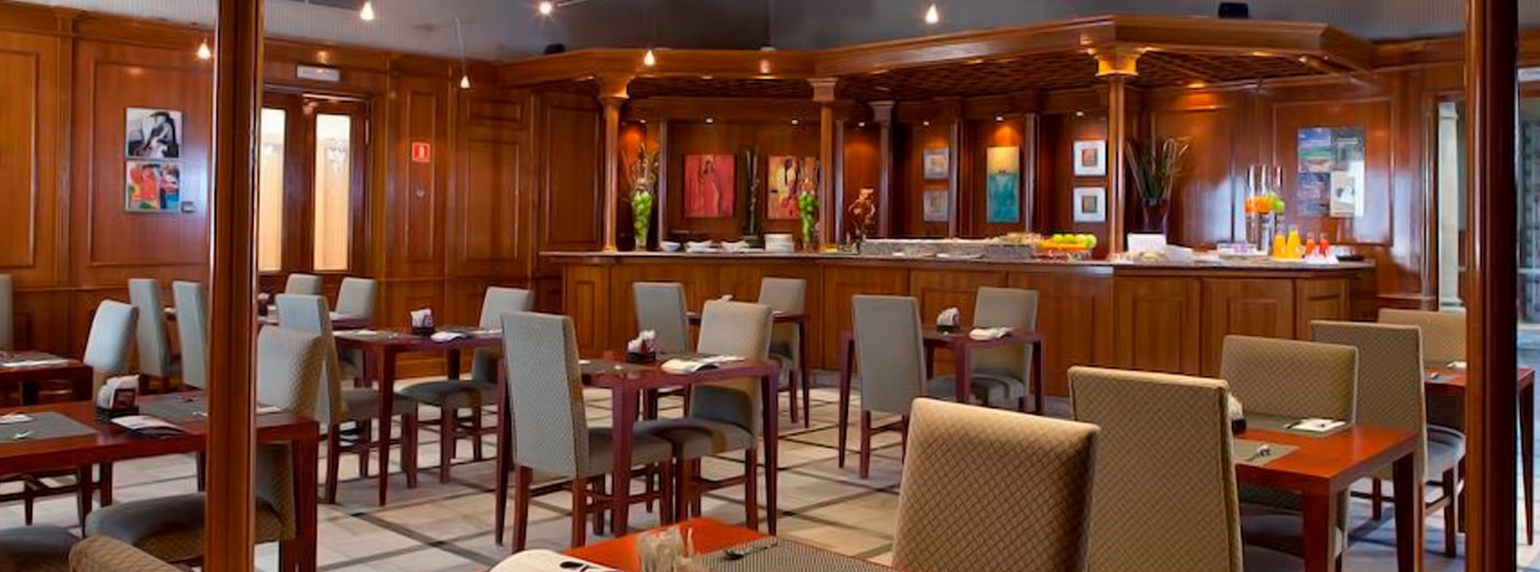 Restaurant de l'Hotel Hesperia Toledo