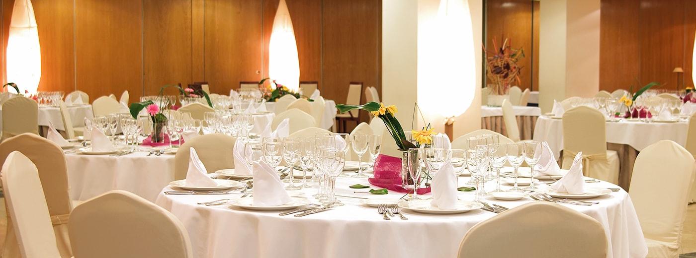 Restaurant de l'Hotel Hesperia Zaragoza Centre