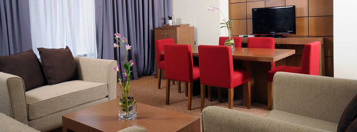 Dining Hotel Hesperia WTC Valencia