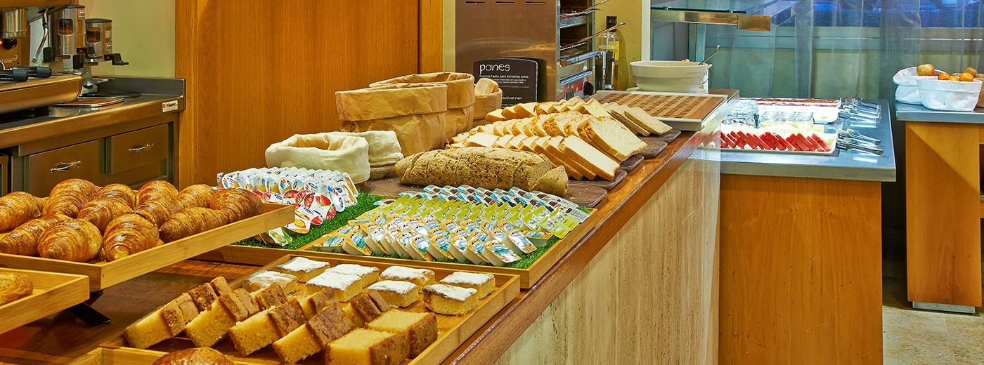 Hotel Hesperia Donosti food