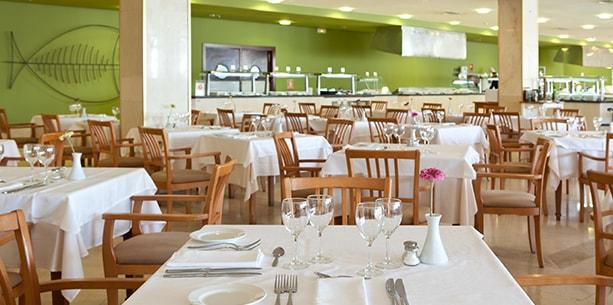 Restaurante Vulcano del Hotel Hesperia Lanzarote