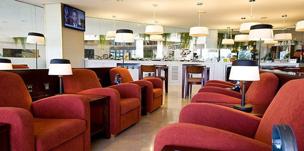 Lounge Deluxe VIP del Hotel Hesperia Playa Dorada