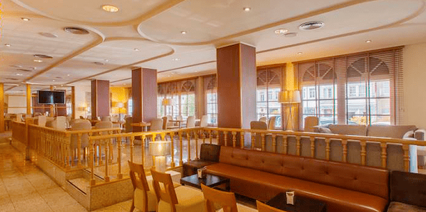 Restaurante del Hotel Hesperia Santiago Peregrino