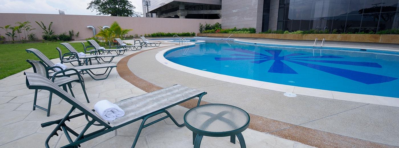 Pool Hesperia WTC Valencia Hotel