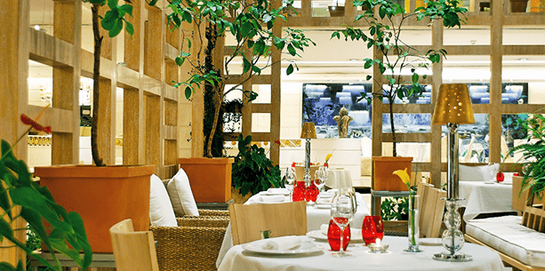Restaurante del Hotel Hesperia Madrid