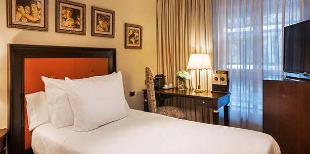 Habitación del Hotel Hesperia Madrid
