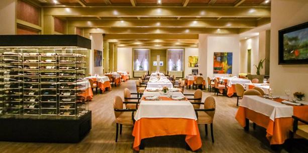 Restaurant de l'Hotel Hesperia WTC València