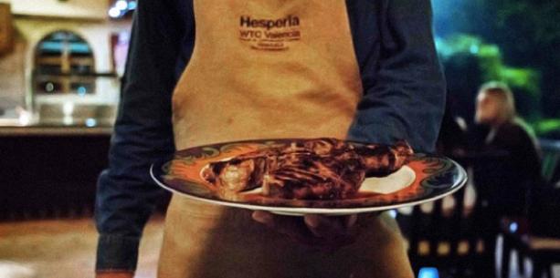 Comida del Hotel Hesperia WTC Valencia