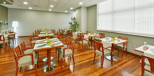 Restaurante del Hotel Hesperia Vigo