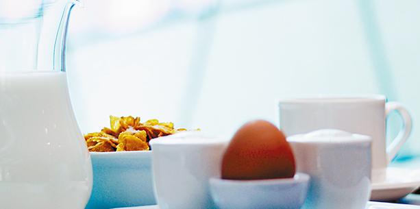 Desayuno del Hotel Hesperia Zaragoza Centro