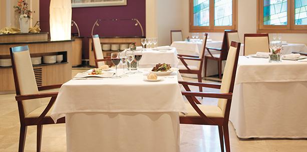 Restaurant El Punto del Hotel Hesperia Zaragoza Centro