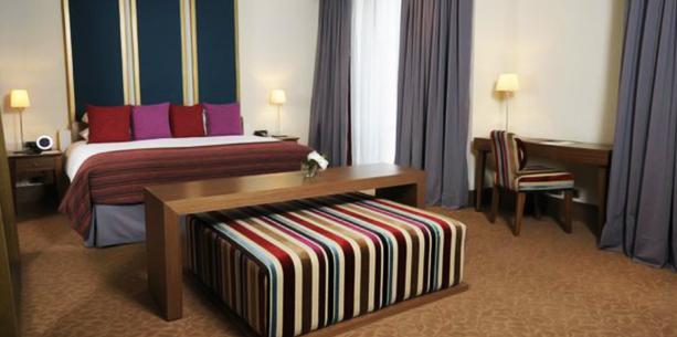 Habitació de l'Hotel Hesperia WTC València
