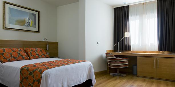 Habitación del Hotel Hesperia Córdoba
