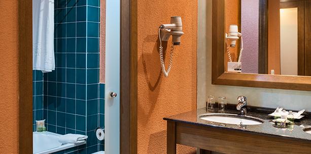 Bath room Hotel Hesperia Lanzarote