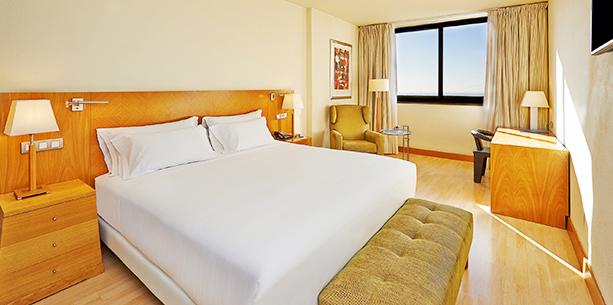 Habitación standard del Hotel Hesperia Barcelona Sant Just