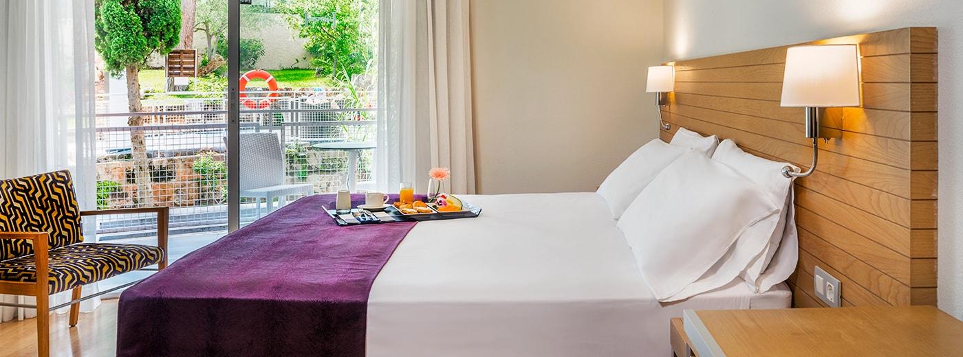 Habitació de l'Hotel Hesperia Cuideu de Mallorca