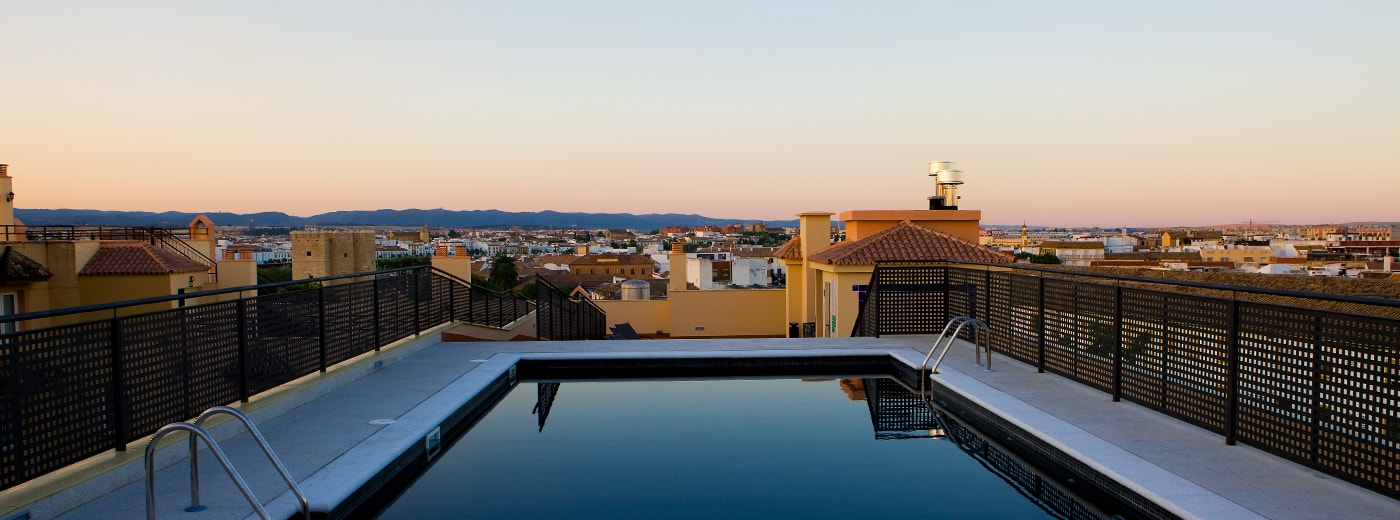 Piscina de l'Hotel Hesperia Córdoba