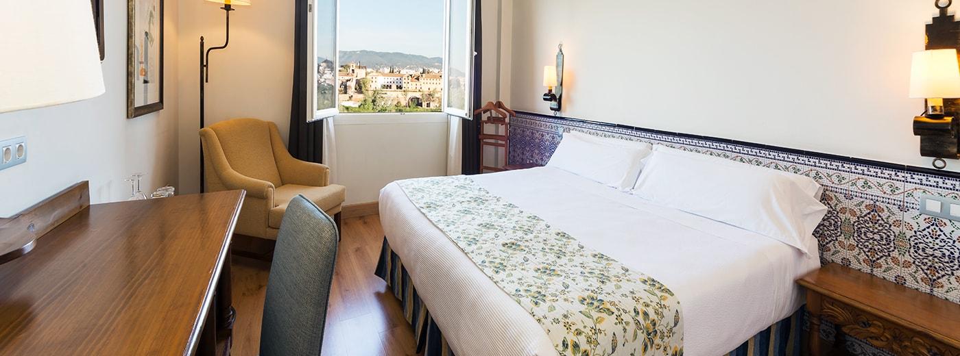 Habitació de l'Hotel Hesperia Córdoba