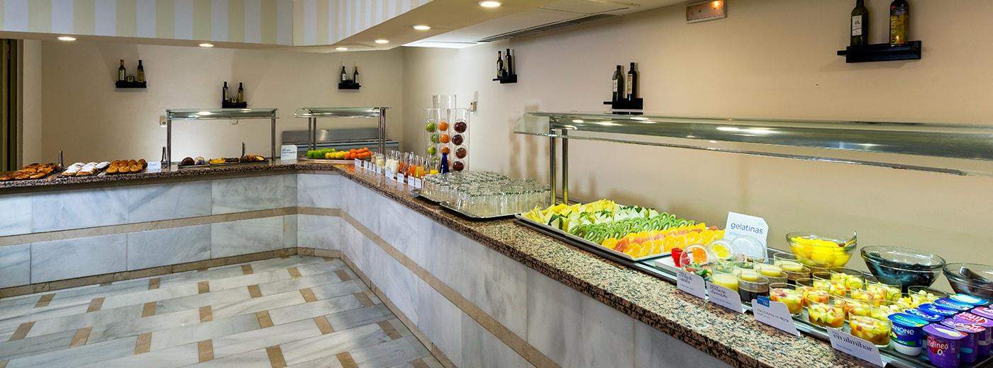 Restaurant de l'Hotel Hesperia Córdoba