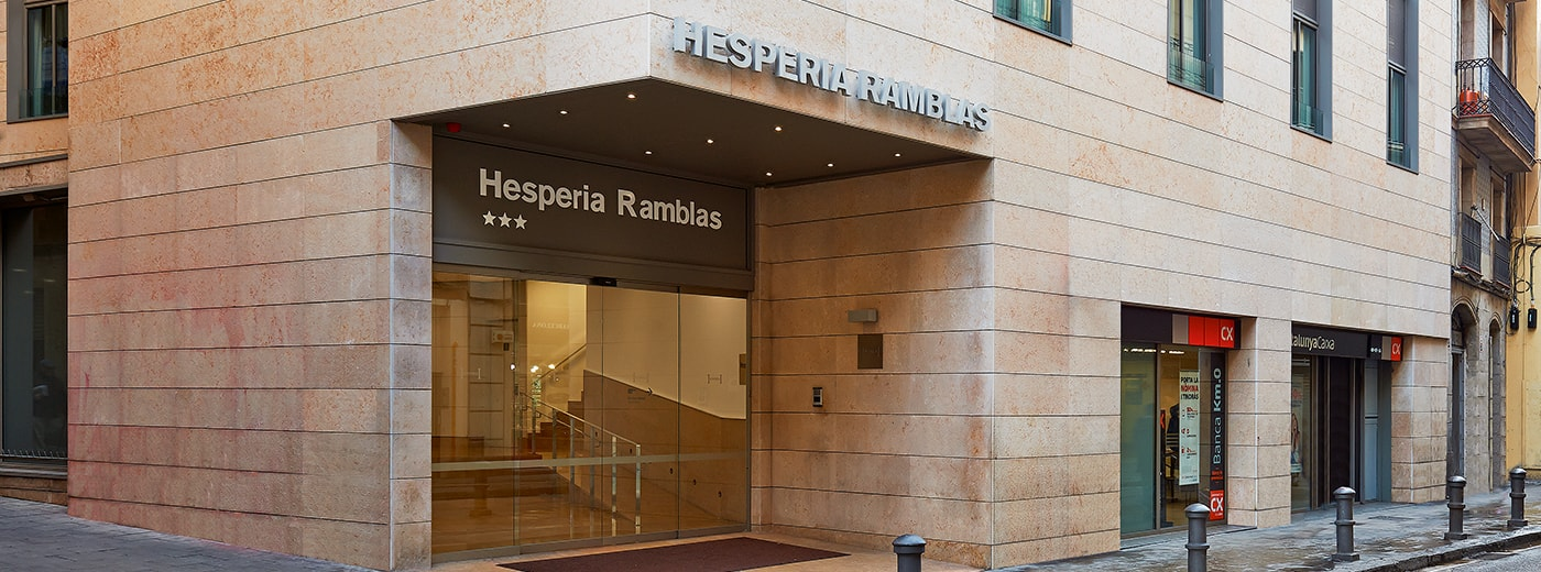 The Hesperia Barcelona Ramblas Hotel