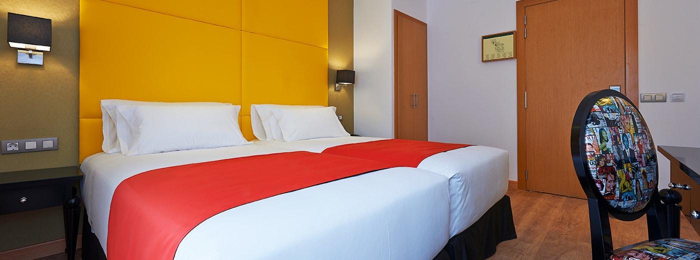 Room Hotel Hesperia Barcelona Barri Goti