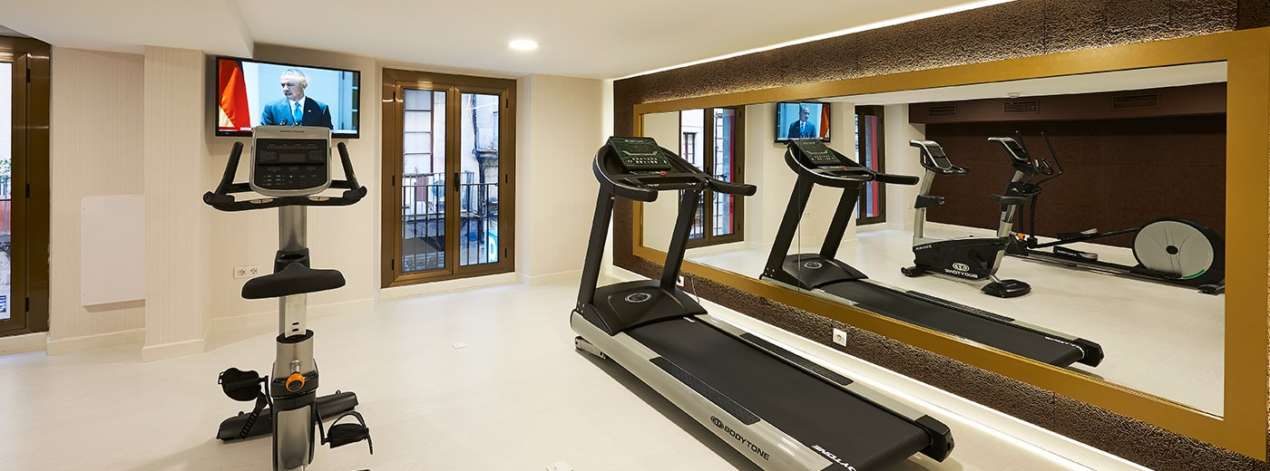 Gym Hesperia Hotel Barcelona Barri Gotic