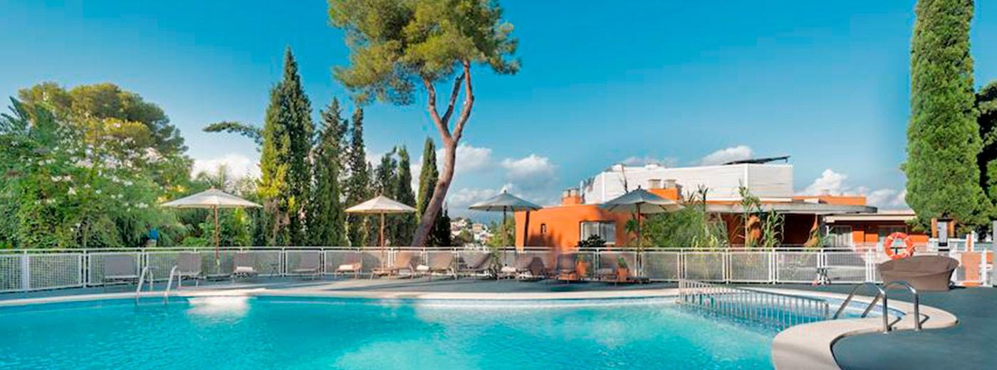 Piscina de l'Hotel Hesperia Cuideu de Mallorca