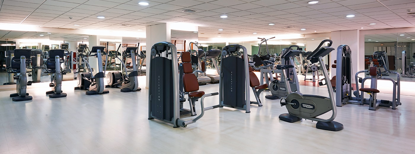 Gym Hotel Hesperia Sant Just Barcelona