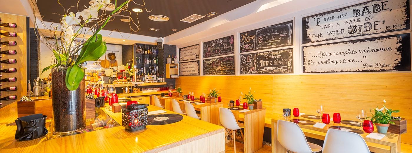 Restaurante del Hotel Hesperia A Coruña Centro
