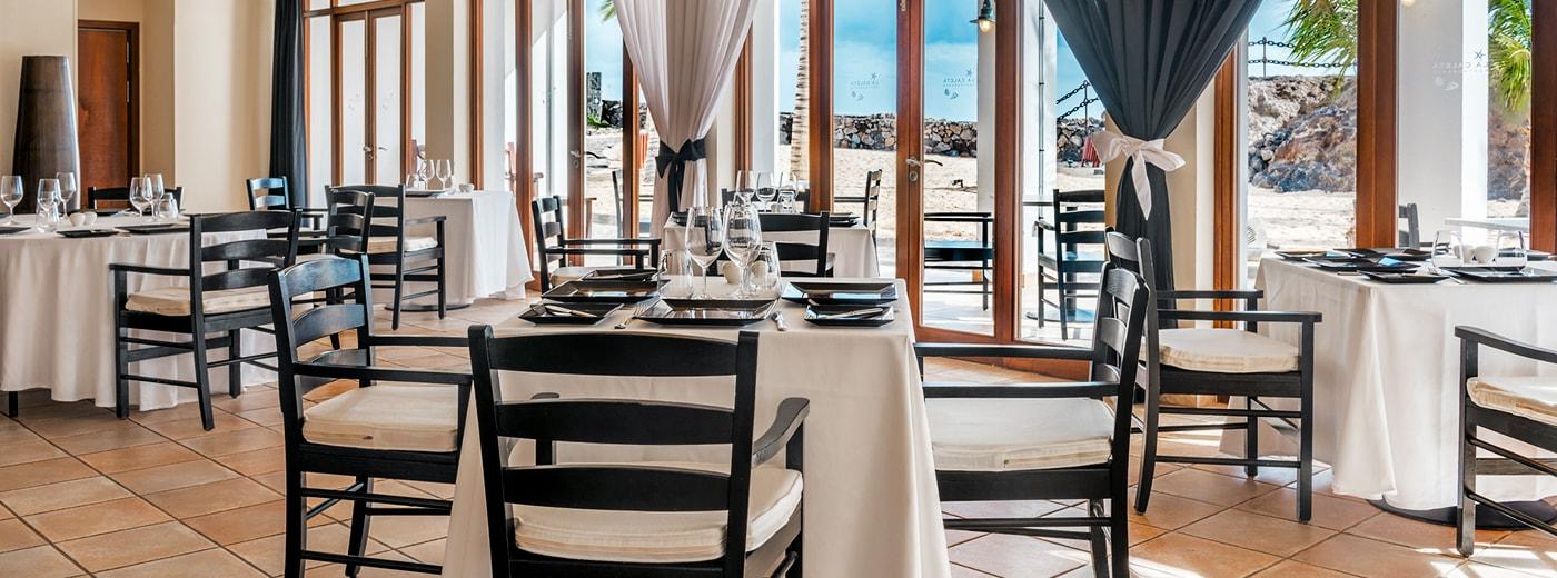 Restaurant de l'Hotel Hesperia Lanzarote