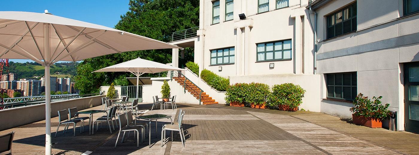 Terrace Hotel Hesperia Zubialde