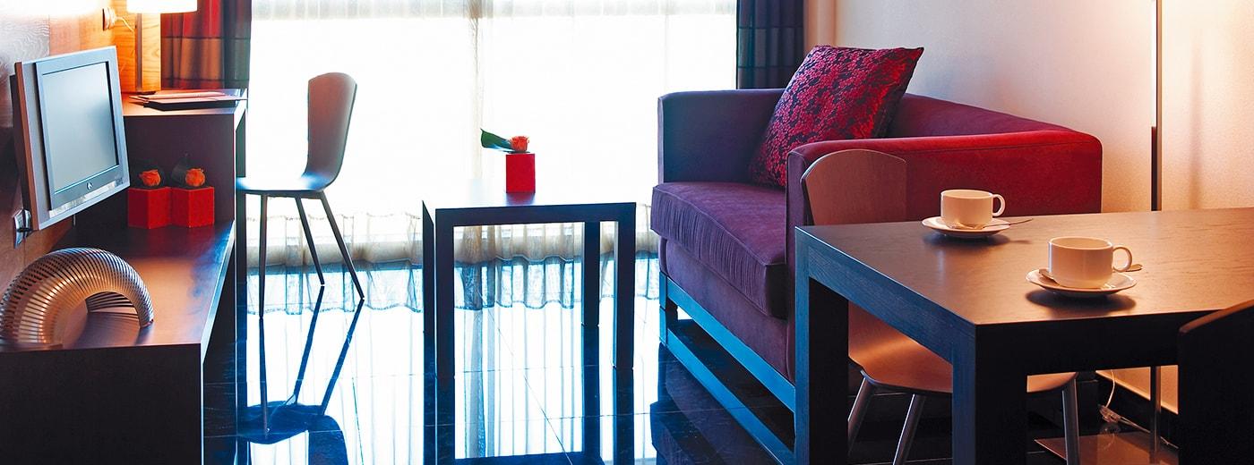 Room Hotel Hesperia Fira Suites Barcelona
