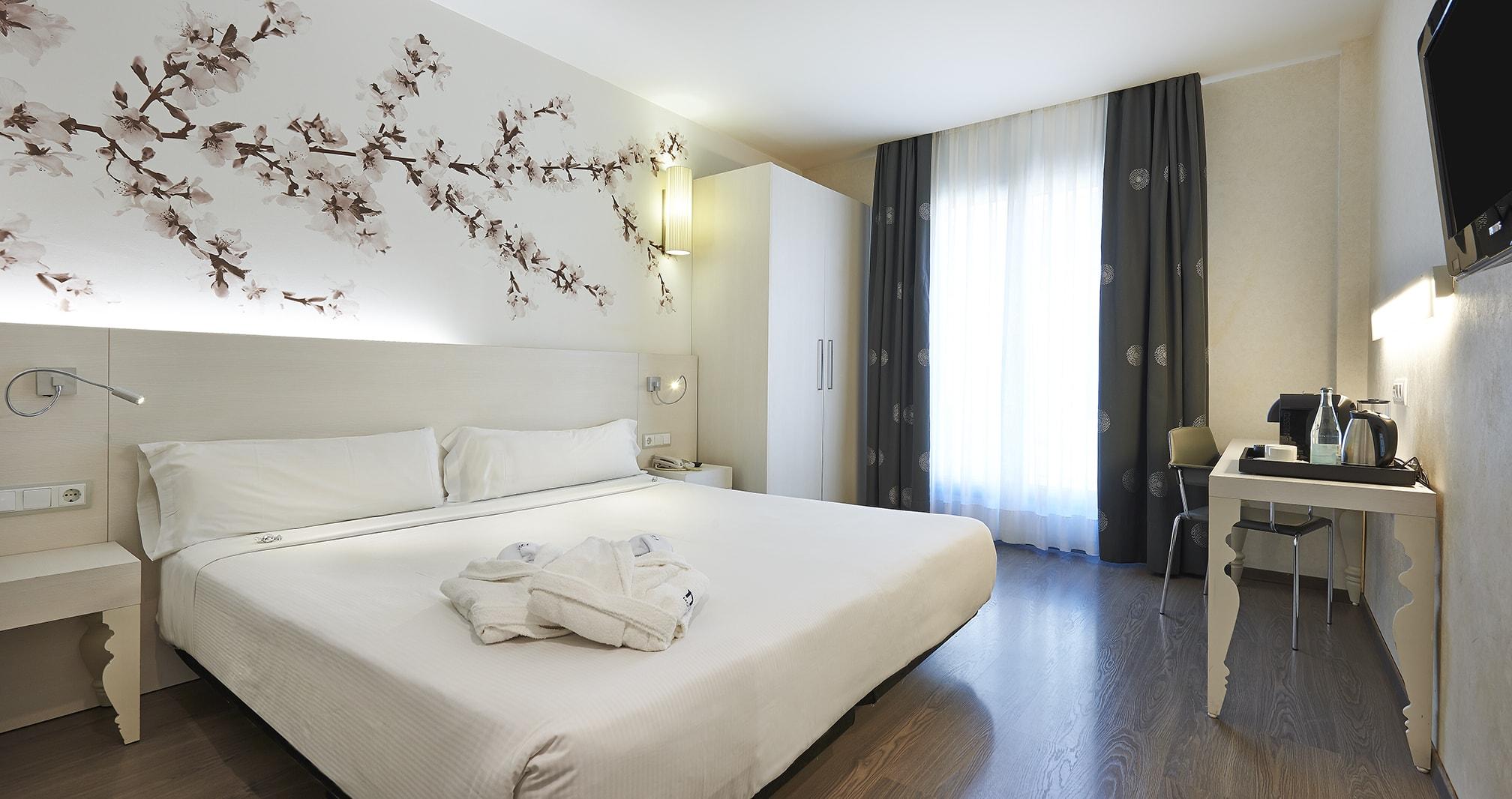 Habitación del Hesperia Barcelona Ramblas