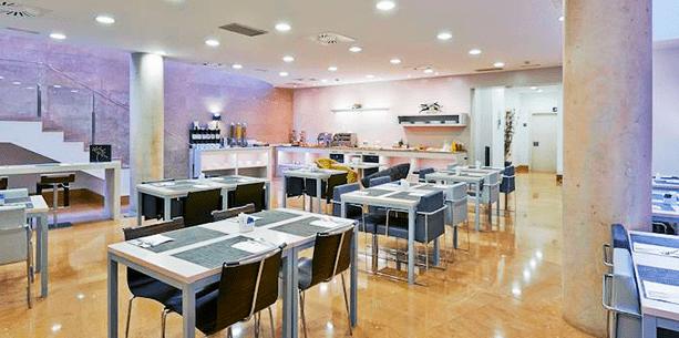 Restaurante del Hotel Barcelona Ramblas