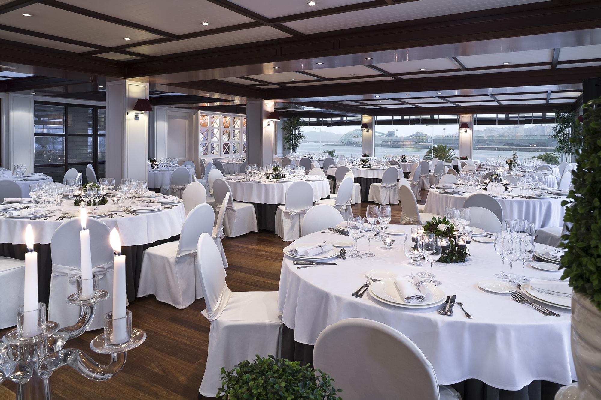 Restaurante Novo del Hesperia A Coruña Finisterre