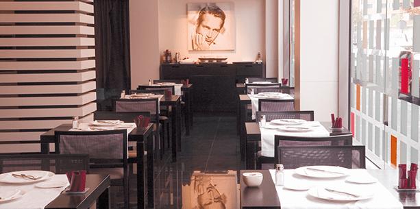 Restaurante del Hotel Hesperia Bilbao