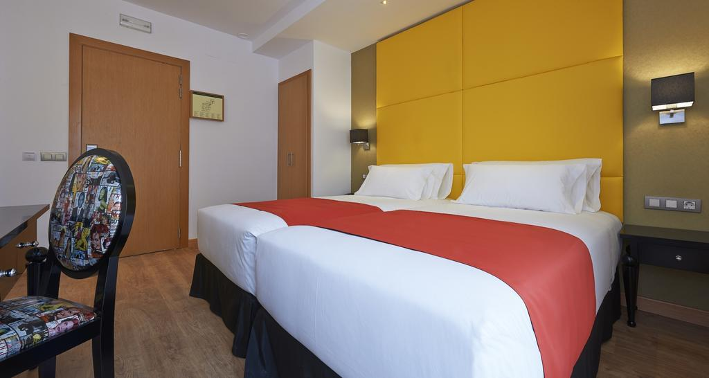 Habitación standard del Hotel Hesperia Barcelona Barri Gotic